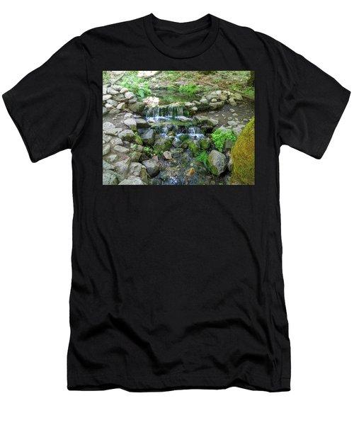Yosemite Stream Men's T-Shirt (Athletic Fit)