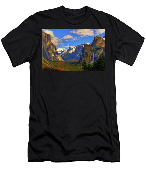 Yosemite Valley Tunnel View Men's T-Shirt (Athletic Fit)