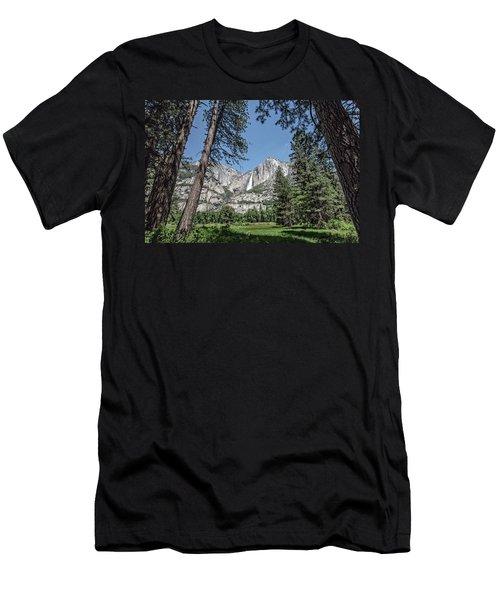 Yosemite View 13 Men's T-Shirt (Slim Fit) by Ryan Weddle