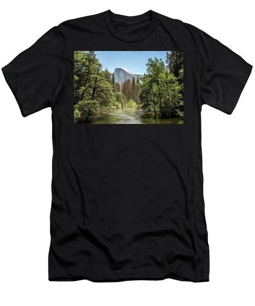 One Valley View Men's T-Shirt (Slim Fit) by Ryan Weddle