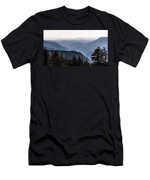 Yosemite View 27 Men's T-Shirt (Slim Fit) by Ryan Weddle