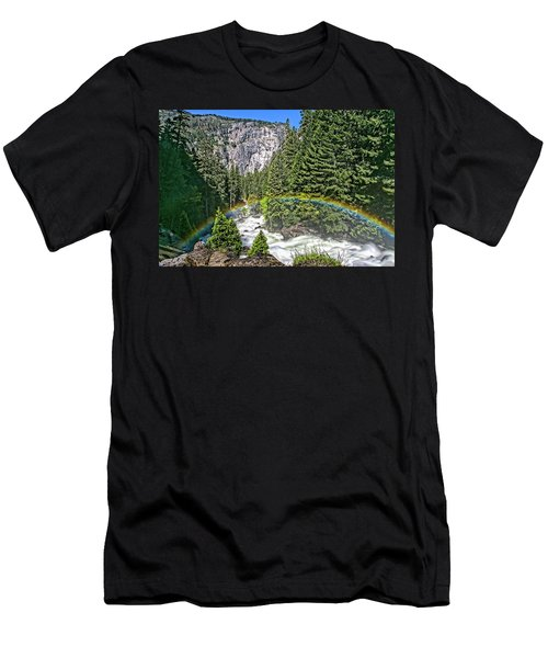 Yosemite View 29 Men's T-Shirt (Athletic Fit)