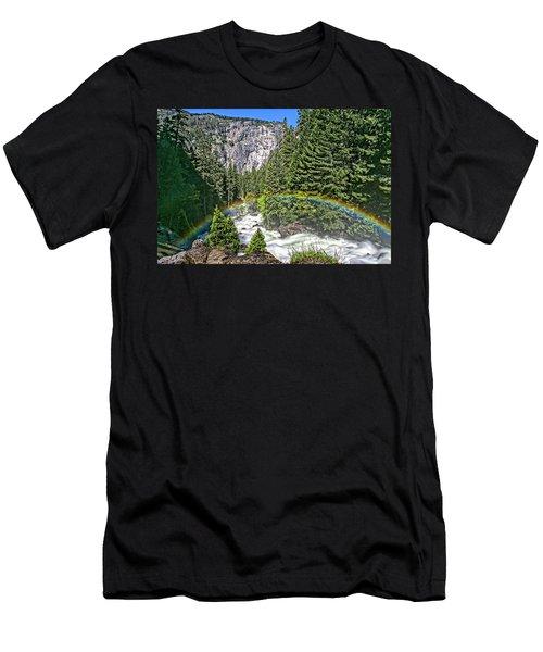 Yosemite View 29 Men's T-Shirt (Athletic Fit)