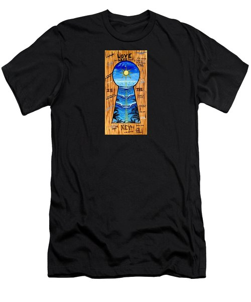 You Hold The Keys Men's T-Shirt (Athletic Fit)