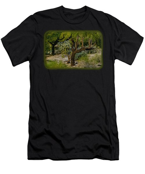 Young And Old Men's T-Shirt (Athletic Fit)