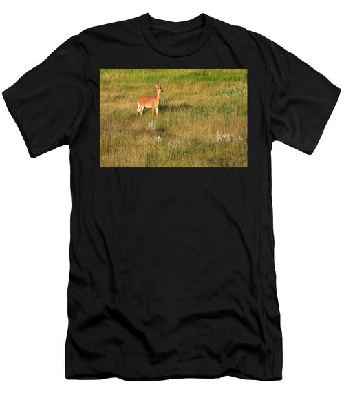 Young Deer Men's T-Shirt (Athletic Fit)