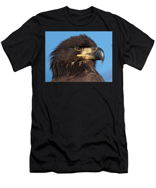 Young Eagle Head Men's T-Shirt (Athletic Fit)