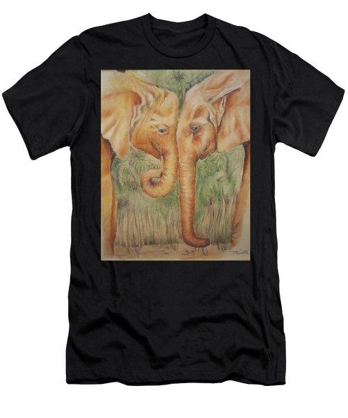 Young Elephants Men's T-Shirt (Athletic Fit)