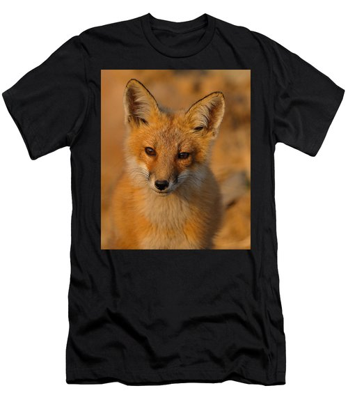 Young Fox Men's T-Shirt (Athletic Fit)