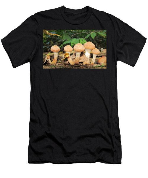Young Honey Mushrooms Men's T-Shirt (Athletic Fit)