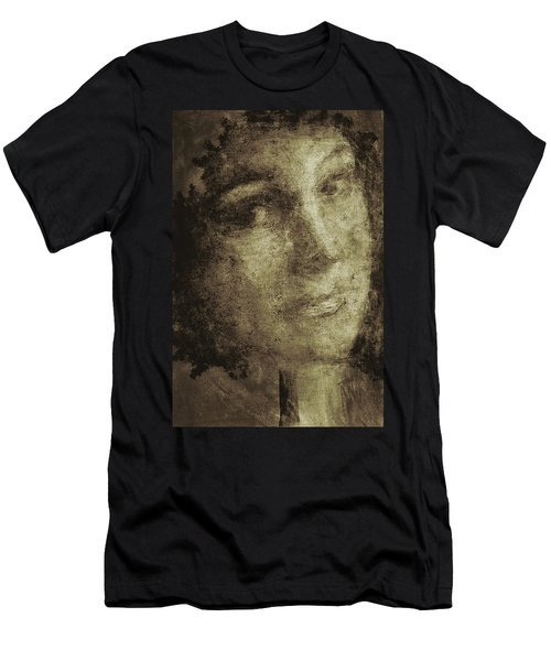 Young Mother Nature Digital Painting Men's T-Shirt (Athletic Fit)