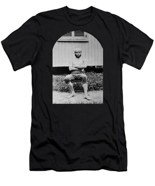 Young Teddy Roosevelt Shirtless - 1879 Men's T-Shirt (Athletic Fit)