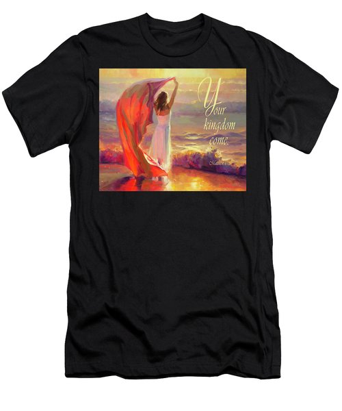 Men's T-Shirt (Athletic Fit) featuring the digital art Your Kingdom Come by Steve Henderson