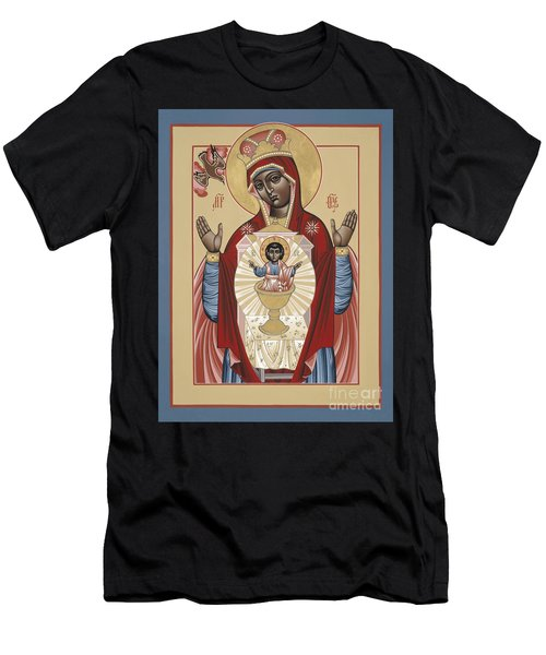 The Black Madonna Your Lap Has Become The Holy Table 060 Men's T-Shirt (Athletic Fit)