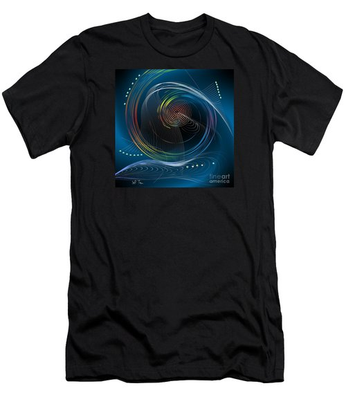 Men's T-Shirt (Slim Fit) featuring the digital art Your Song by Leo Symon