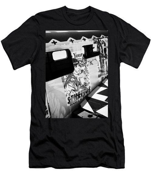 Men's T-Shirt (Slim Fit) featuring the photograph Your Stilletos by Chris Dutton