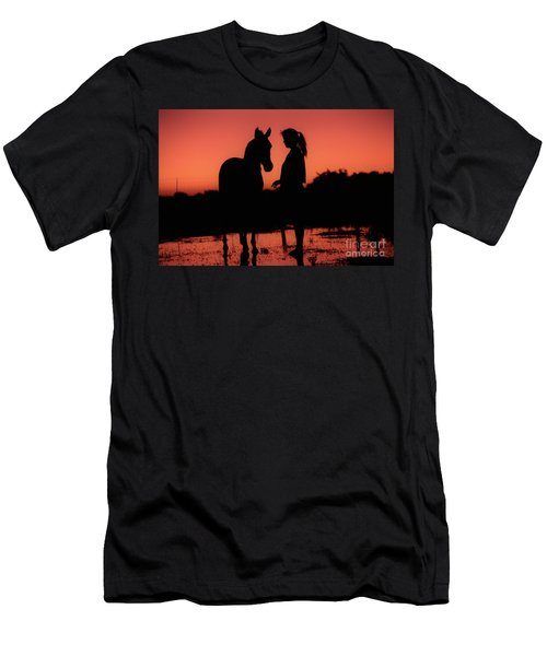 Men's T-Shirt (Slim Fit) featuring the photograph Youth by Jim and Emily Bush