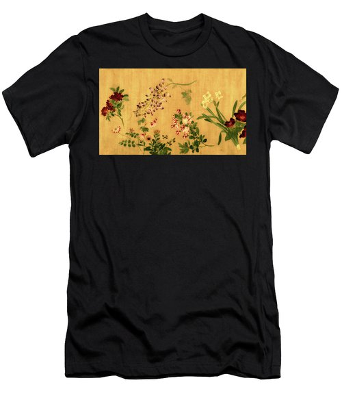 Yuan's Hundred Flowers Men's T-Shirt (Athletic Fit)