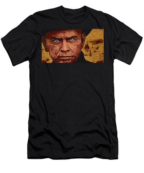 Men's T-Shirt (Athletic Fit) featuring the digital art Yul Brynner by Antonio Romero
