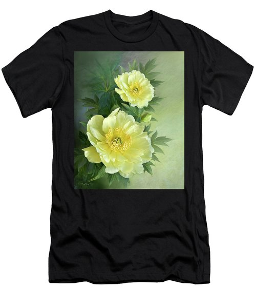 Yumi Itoh Peony Men's T-Shirt (Athletic Fit)