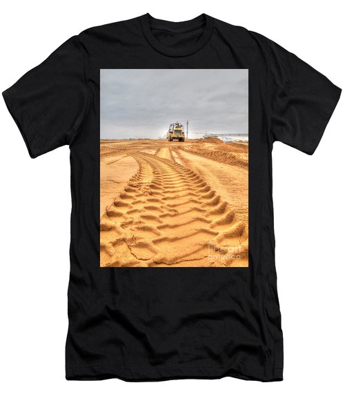 Yury Bashkin The Road On The Construction Men's T-Shirt (Athletic Fit)