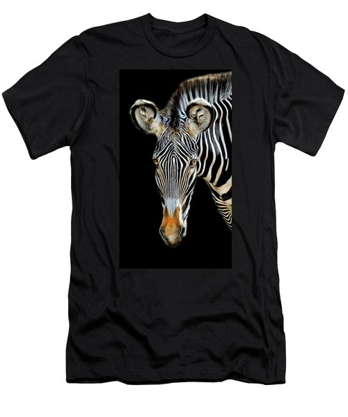 Zebra Men's T-Shirt (Athletic Fit)