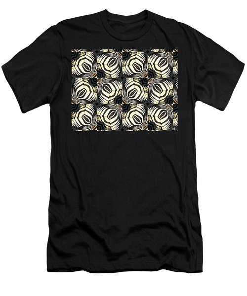 Zebra IIi Men's T-Shirt (Slim Fit) by Maria Watt