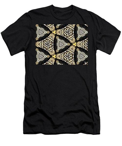 Zebra Iv Men's T-Shirt (Slim Fit) by Maria Watt