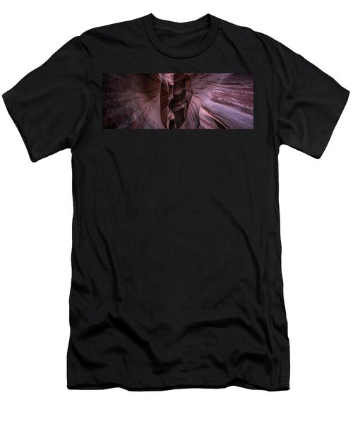 Men's T-Shirt (Athletic Fit) featuring the photograph Zebra Stripes by Edgars Erglis