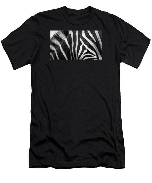 Zebra Stripes Men's T-Shirt (Slim Fit) by Racheal  Christian