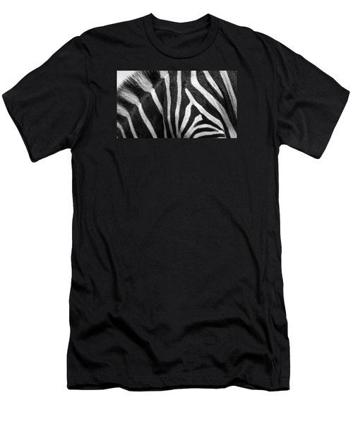Zebra Stripes Men's T-Shirt (Athletic Fit)