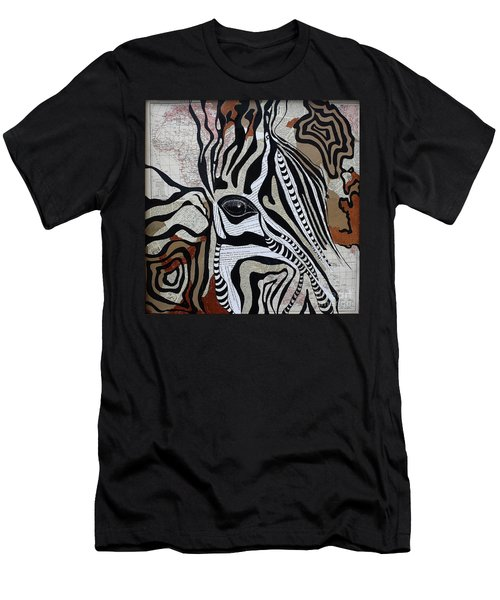 Zebroid Men's T-Shirt (Athletic Fit)