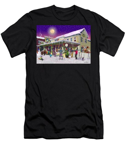 Zebs General Store In North Conway New Hampshire Men's T-Shirt (Athletic Fit)