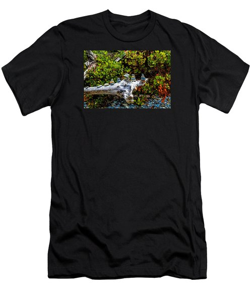 Zen Men's T-Shirt (Slim Fit) by Alana Thrower