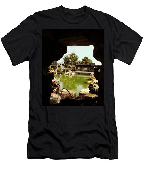 Zen Garden Men's T-Shirt (Athletic Fit)