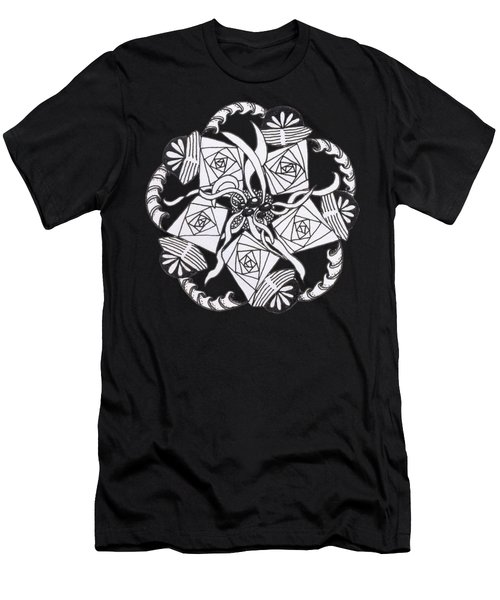 Zendala Seaweed Men's T-Shirt (Athletic Fit)