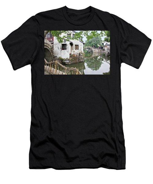 Zhouzhuang - A Watertown Men's T-Shirt (Athletic Fit)