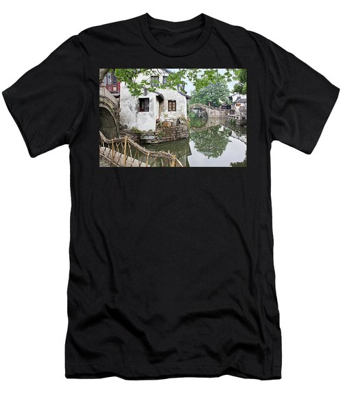 Zhouzhuang - A Watertown Men's T-Shirt (Athletic Fit)