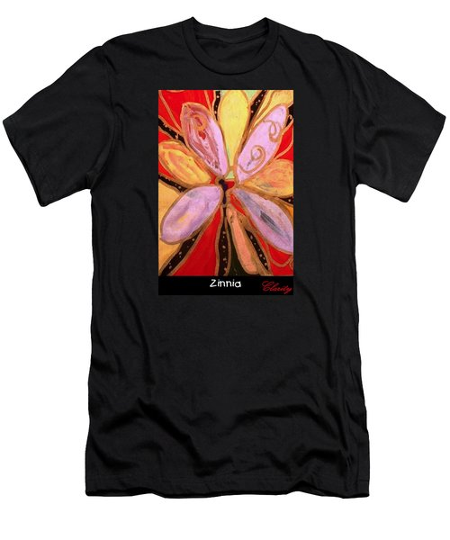 Zinnia Men's T-Shirt (Slim Fit) by Clarity Artists