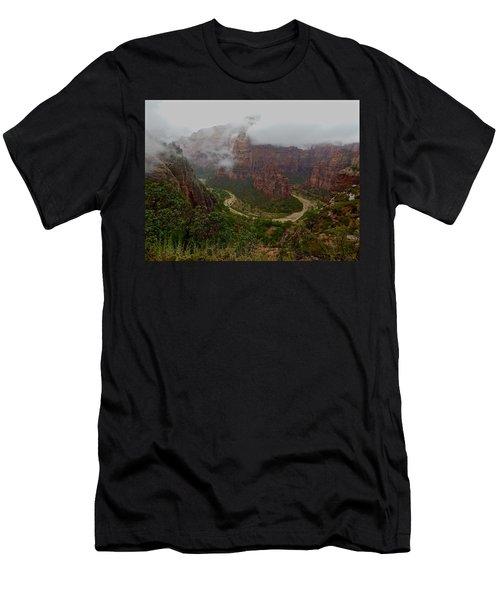 Zion Canyon Men's T-Shirt (Athletic Fit)