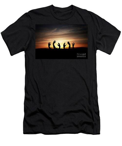 Zombie Apocalypse Men's T-Shirt (Athletic Fit)