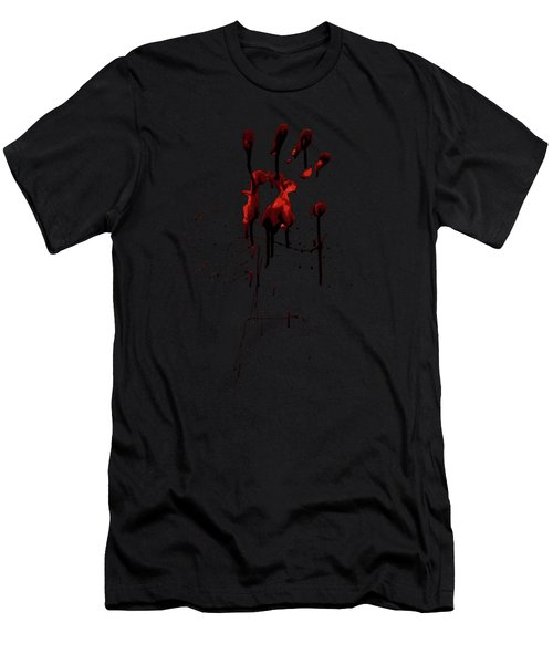 Zombie Attack - Bloodprint Men's T-Shirt (Athletic Fit)
