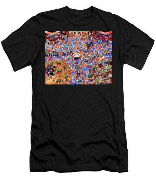 Zombie Casino Men's T-Shirt (Athletic Fit)