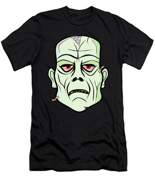 Zombie Head Men's T-Shirt (Athletic Fit)