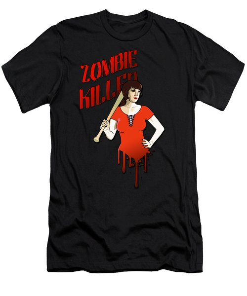 Zombie Killer Men's T-Shirt (Athletic Fit)