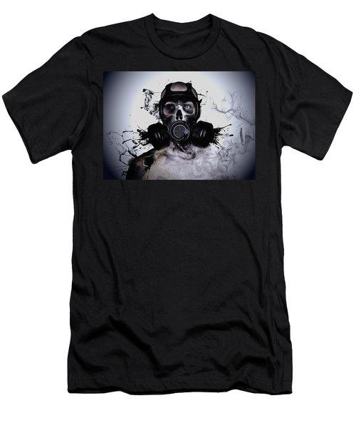 Zombie Warrior Men's T-Shirt (Athletic Fit)