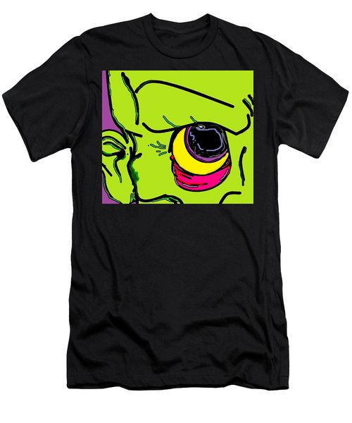 Men's T-Shirt (Slim Fit) featuring the digital art Zombie by Yshua The Painter