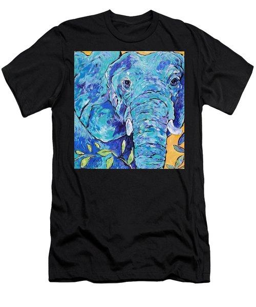 Zoo Elephant  Men's T-Shirt (Athletic Fit)