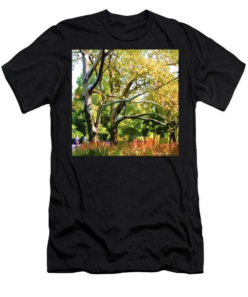 Zoo Trees Men's T-Shirt (Athletic Fit)