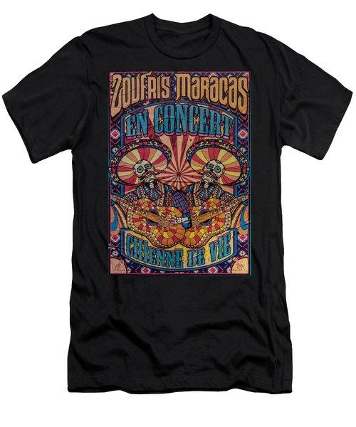Zoufris Maracas Poster Men's T-Shirt (Athletic Fit)
